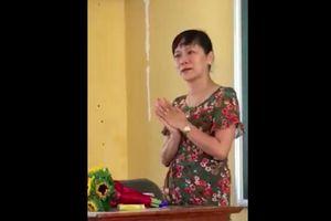 Lời dặn dò xúc động của cô giáo ở Nam Định ngày chia tay học trò