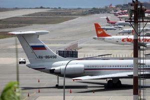 Máy bay không quân Nga đáp xuống Venezuela