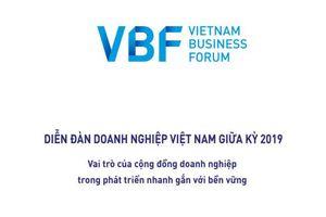 Báo cáo Diễn đàn doanh nghiệp Việt Nam - VBF giữa kỳ 2019
