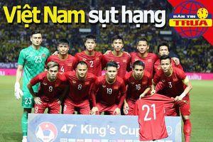 Việt Nam sụt hạng FIFA; Đồng đội Salah bị loại khỏi CAN