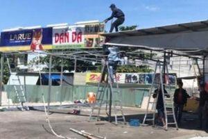 Đà Nẵng dẹp hàng quán xây dựng trái phép ven biển