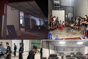 Những con số gây 'choáng' trong vụ đột kích sới bạc khủng ở Bắc Giang