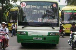 TP.HCM: Xin ngưng tuyến buýt 54 vì... lỗ tiền tỷ
