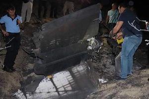 Vật thể bay bí ẩn rơi ở bắc đảo Síp sau trận oanh kích Syria của Israel