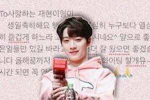 Mất số điện thoại và đây là cách em út Wanna One Lai KuanLin mừng sinh nhật Ahn Jaehyun