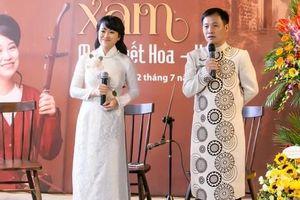 Truyền nhân của nghệ nhân Hà Thị Cầu ra mắt album xẩm đầu tay