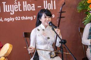 Mai Tuyết Hoa ra album xẩm, tôn vinh nghệ thuật dân gian