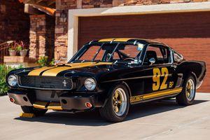 Xe cổ Shelby Mustang đời 1966 phiên bản siêu hiếm sắp được bán đấu giá