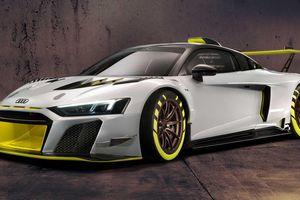 Audi ra mắt siêu xe đua thiết kế cực chất, mạnh 630 mã lực