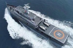 Indonesia điều tàu lớn nhất tuần tra Biển Đông