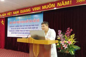 Bệnh viện Thể thao tổ chức Hội thảo khoa học về chấn thương thể thao