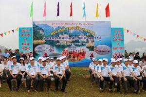 Hội đua thuyền kayak trên hồ thủy điện Tuyên Quang