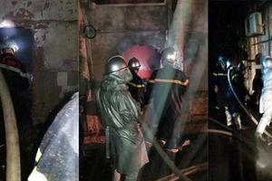 Hà Nội: Cảnh sát giải cứu hai bé gái thoát khỏi đám cháy trong đêm