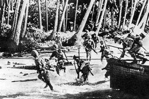 Cực hiếm hình ảnh Nhật tiến công vào Đông Ấn Hà Lan trong CTTG 2