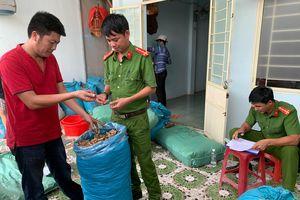 Phát hiện hơn 2 tấn nguyên liệu nghi dùng để sản xuất thuốc Ama Kông giả