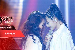 Hát 'Người từng nói' của Đông Nhi, Layla lần đầu khoe vũ đạo 'thần sầu', xuất sắc lọt Top 5 The Voice 2019
