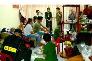 Phá chuyên án triệt phá đường dây đánh bạc lớn ở Nha Trang