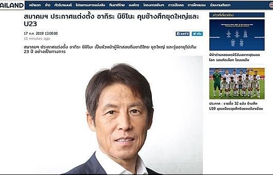 HLV Akira Nishino chính thức dẫn dắt ĐT Thái Lan