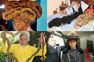 Mục sở thị những mái tóc kỳ lạ nhất thế giới, hàng chục năm không cắt gội