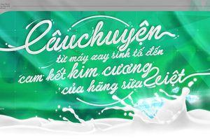 Câu chuyện từ máy xay sinh tố đến cam kết kim cương của hãng sữa Việt