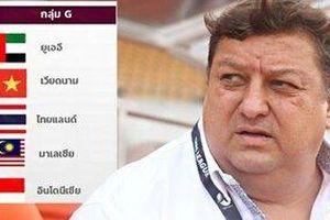 Chuyên gia bóng đá: 'Việt Nam tiến bộ nhưng dưới tầm Thái Lan '