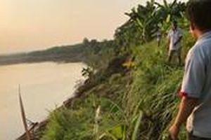 Hà Nội: Nhiều bãi tập kết vật liệu không phép ven sông