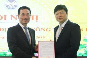 Ông Hoàng Minh Cường làm Cục trưởng Viễn thông