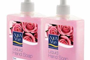 Nước rửa tay AQUAVERA Công ty Đài Linh nhập khẩu chất lượng kém?