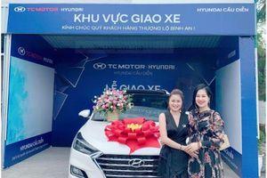 NPP Kim Cương An Candy 'tậu' Hyundai Tucson nối tiếp thành công trên con đường kinh doanh Online