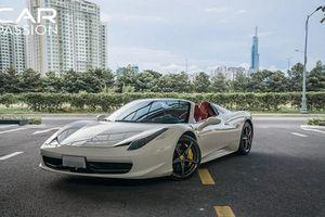 Ferrari 458 Spider của hotgirl Sài thành có gì hay?