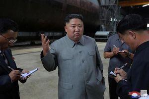 KCNA: Ông Kim Jong Un thị sát tàu ngầm mới đóng