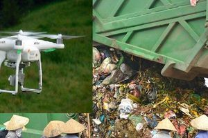 Đà Nẵng mua flycam cho công an 'làm nhiệm vụ' ở bãi rác ô nhiễm Khánh Sơn