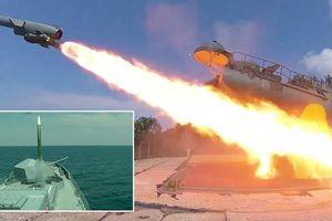 Tàu khu trục Nga diệt tên lửa chống hạm trong tập trận ở Crimea