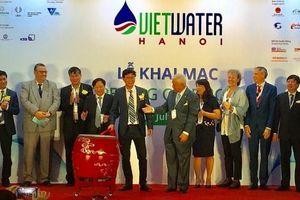 30 quốc gia và vung lãnh thổ tham dự triển lãm về ngành nước tại Hà Nội