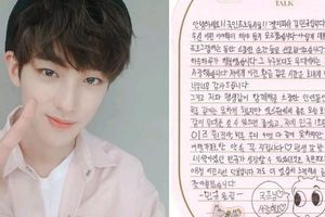 Kim Mingyu gửi tâm thư đến chương trình Produce X 101