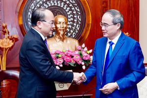 Tăng cường hợp tác nhiều mặt giữa TPHCM và Singapore