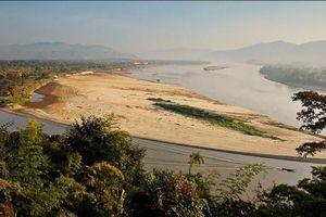 Việt Nam, Lào, Thái Lan hạn nặng do nắng nóng kéo dài, mực nước sông Mekong xuống thấp