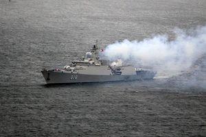 Cận cảnh chuyến thăm lịch sử của tàu chiến Việt Nam tới Nga