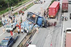 Khởi tố, tạm giam lái xe tải gây tai nạn 5 người chết ở Hải Dương