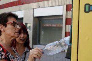 Du khách có thể kiểm tiền đi lại bằng việc bỏ chai nhựa vào máy tự động