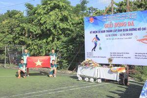 Sôi nổi Giải bóng đá kỷ niệm 20 năm Ban QLDA đường Hồ Chí Minh