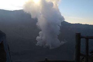 Núi lửa phun trào, Tổng thống Indonesia yêu cầu người dân cảnh giác