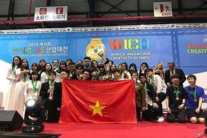 Học sinh Việt Nam giành HCV Olympic Phát minh và sáng chế thế giới