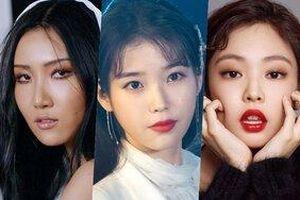 BXH thương hiệu quảng cáo Kpop nữ tháng 7/2019: Hwasa (Mamamoo) dẫn đầu, Jennie (BlackPink) - IU trụ lại top 5