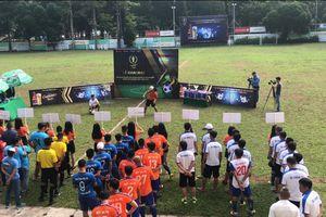 TP.HCM: Tưng bừng lễ khai mạc giải bóng đá 'Gammer Cup 2019'
