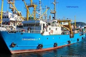 Triều Tiên trả tự do cho tàu cá Nga sau 10 ngày giam giữ