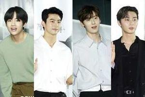 Ok Taec Yeon, V (BTS) - Hwang Minhyun cùng 20 sao Hàn dự buổi công chiếu VIP phim của Park Seo Joon
