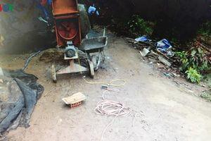 Một phụ hồ ở Tiền Giang bất cẩn, bị điện giật tử vong