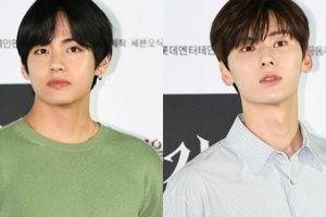 Hai nam thần đình đám Kpop xuất hiện điển trai tại sự kiện