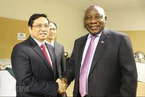 Trưởng Ban Tổ chức Trung ương Phạm Minh Chính thăm và làm việc tại Nam Phi